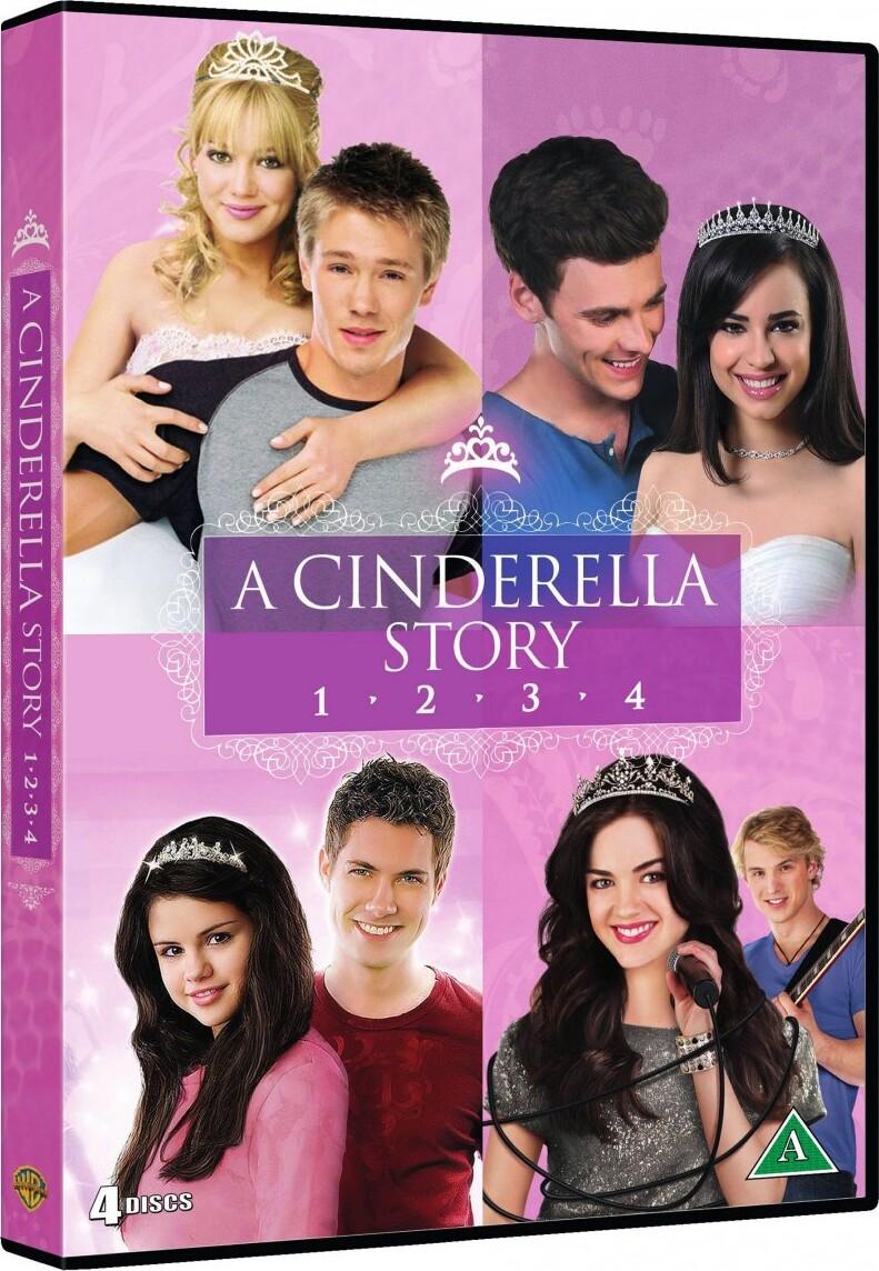 Billede af A Cinderella Story 1-4 - DVD - Film