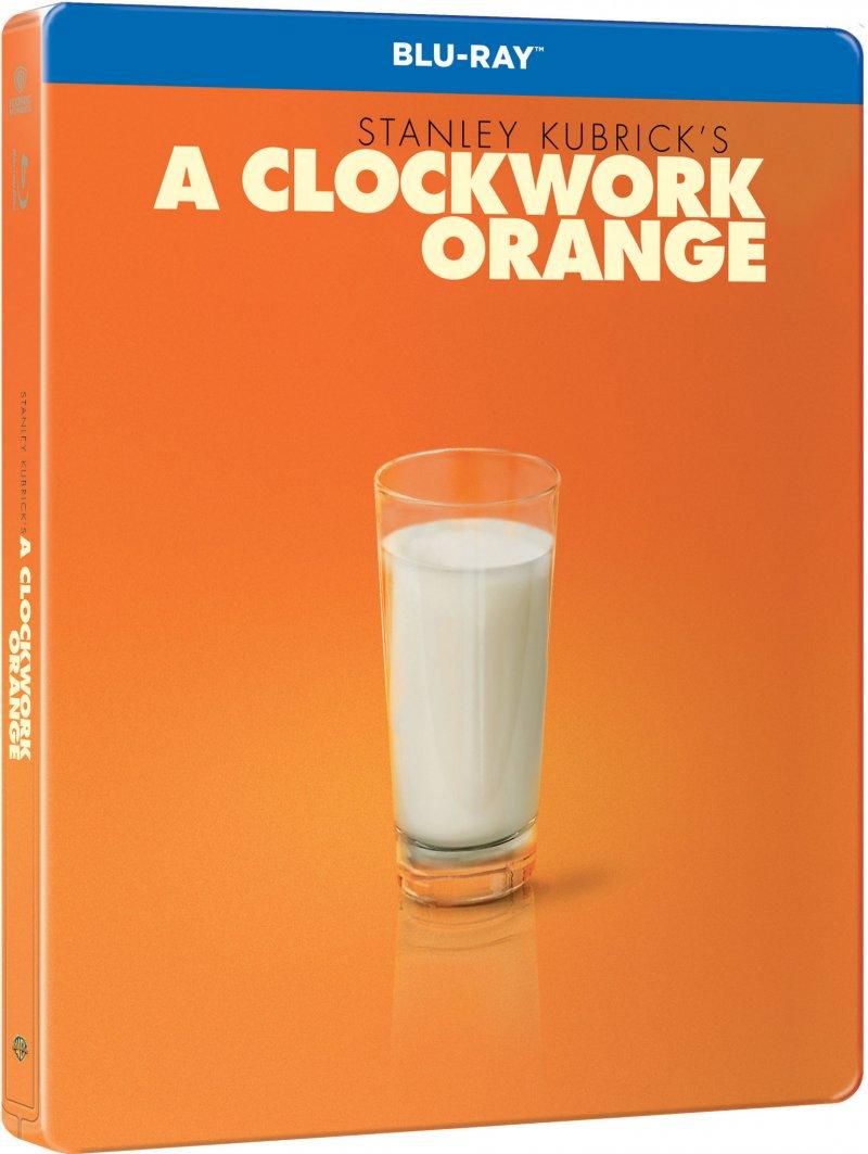 Image of   A Clockwork Orange - Steelbook - Blu-Ray