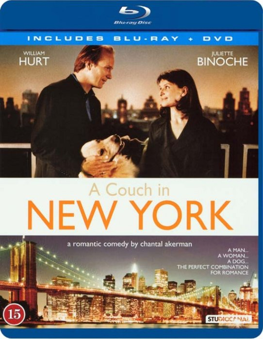 Billede af A Couch In New York (blu-ray + Dvd) - Blu-Ray