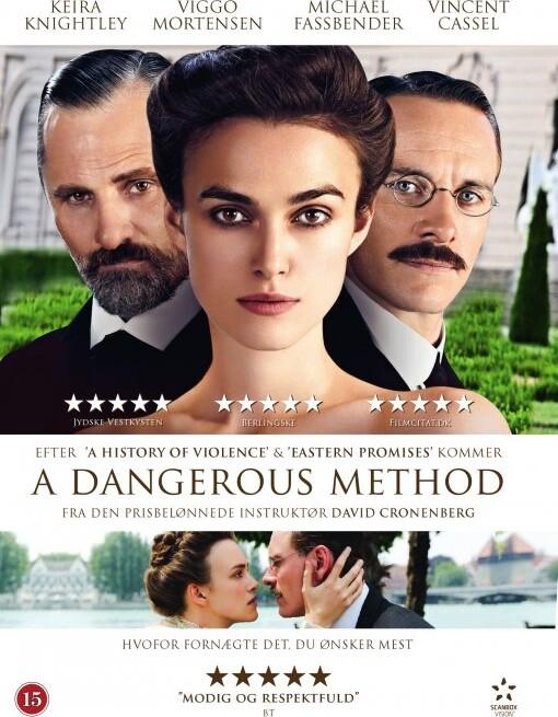 Image of   A Dangerous Method - DVD - Film