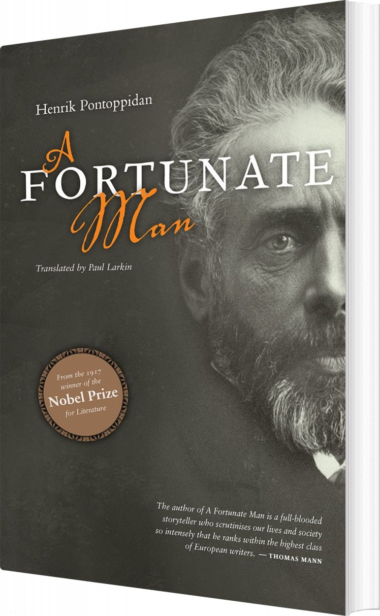 Billede af A Fortunate Man - Henrik Pontoppidan - Bog