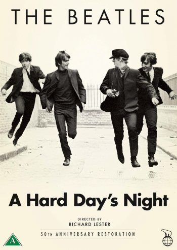 Image of   A Hard Days Night - DVD - Film