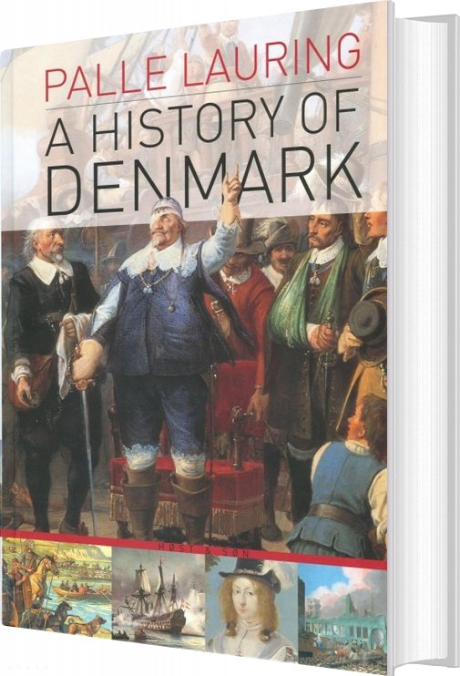 Image of   A History Of Denmark - Palle Lauring - Bog