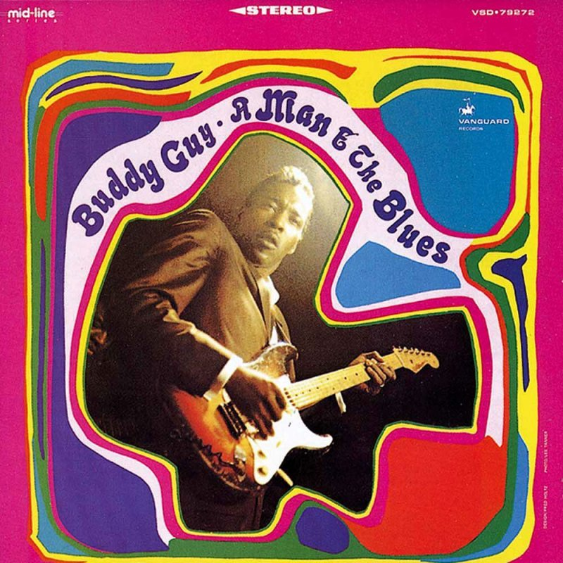 Image of   Buddy Guy - A Man And The Blues - CD