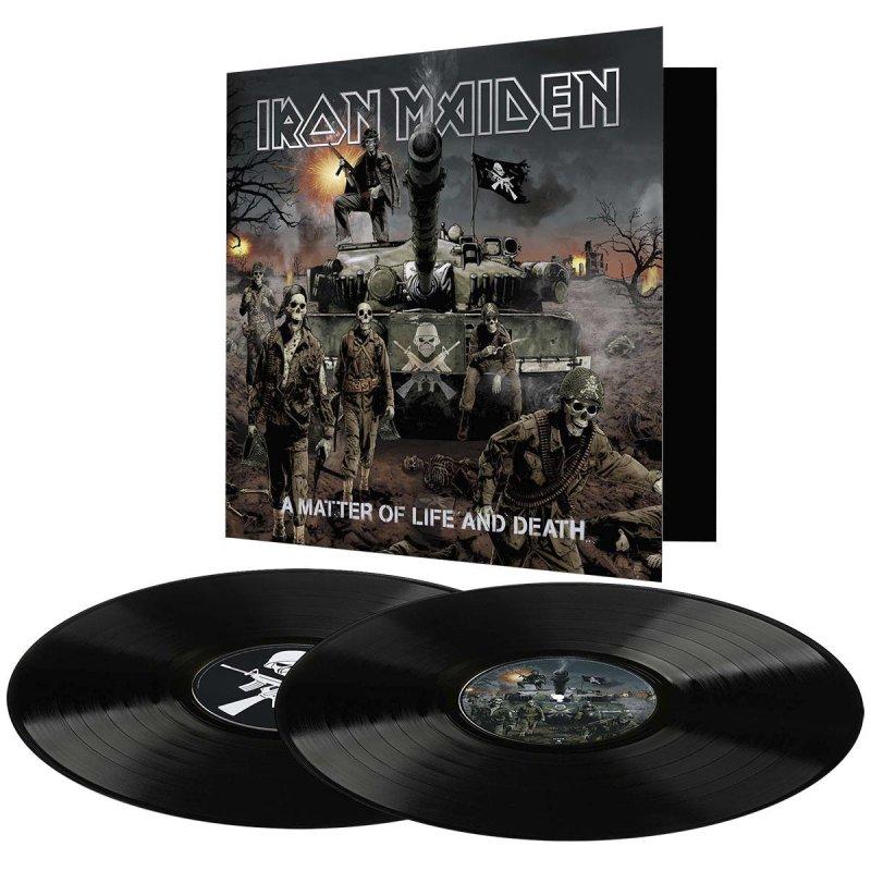Image of   Iron Maiden - A Matter Of Life & Death - Vinyl / LP