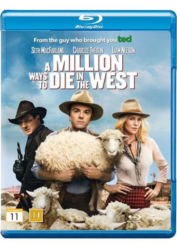 Image of   A Million Ways To Die In The West - Blu-Ray