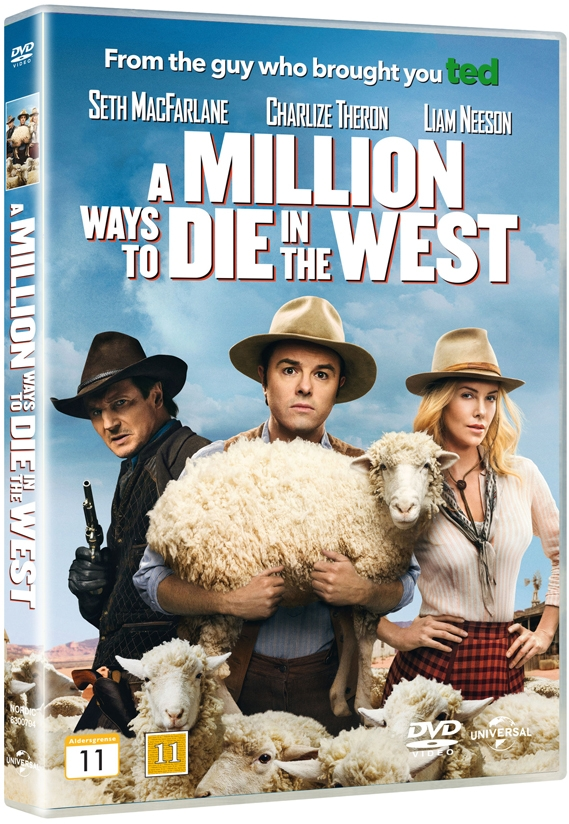 Image of   A Million Ways To Die In The West - DVD - Film