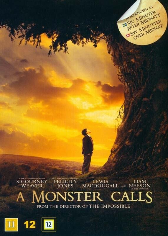 Image of   A Monster Calls / Syv Minutter Over Midnat - DVD - Film