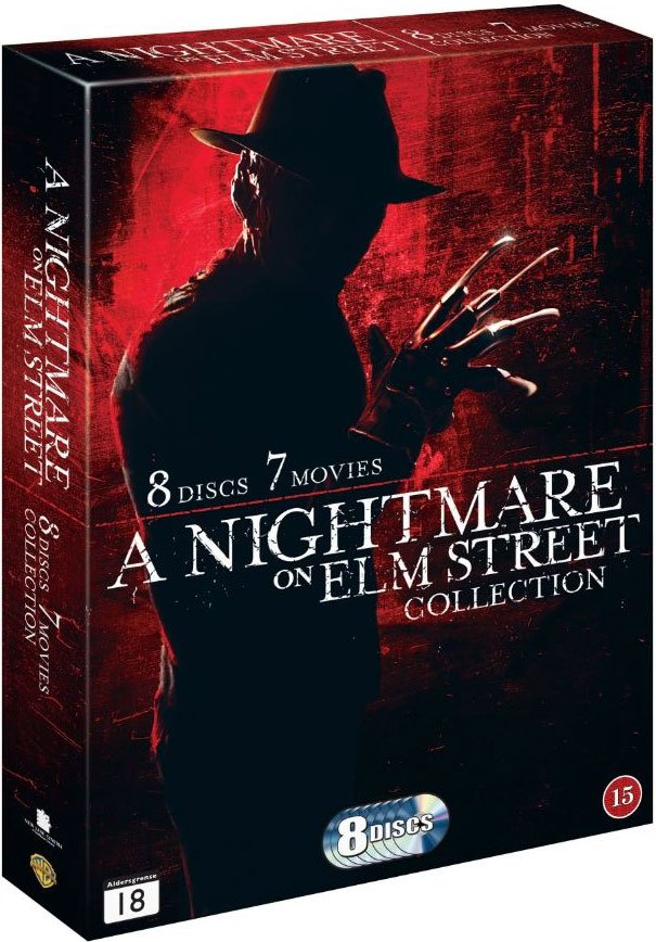 Image of   A Nightmare On Elm Street 1-7 - Collection - DVD - Film