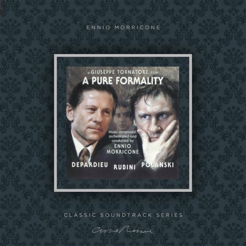 Image of   Ennio Morricone - A Pure Formality - Vinyl / LP
