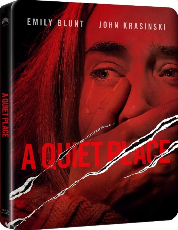 Image of   A Quiet Place - Steelbook - Blu-Ray