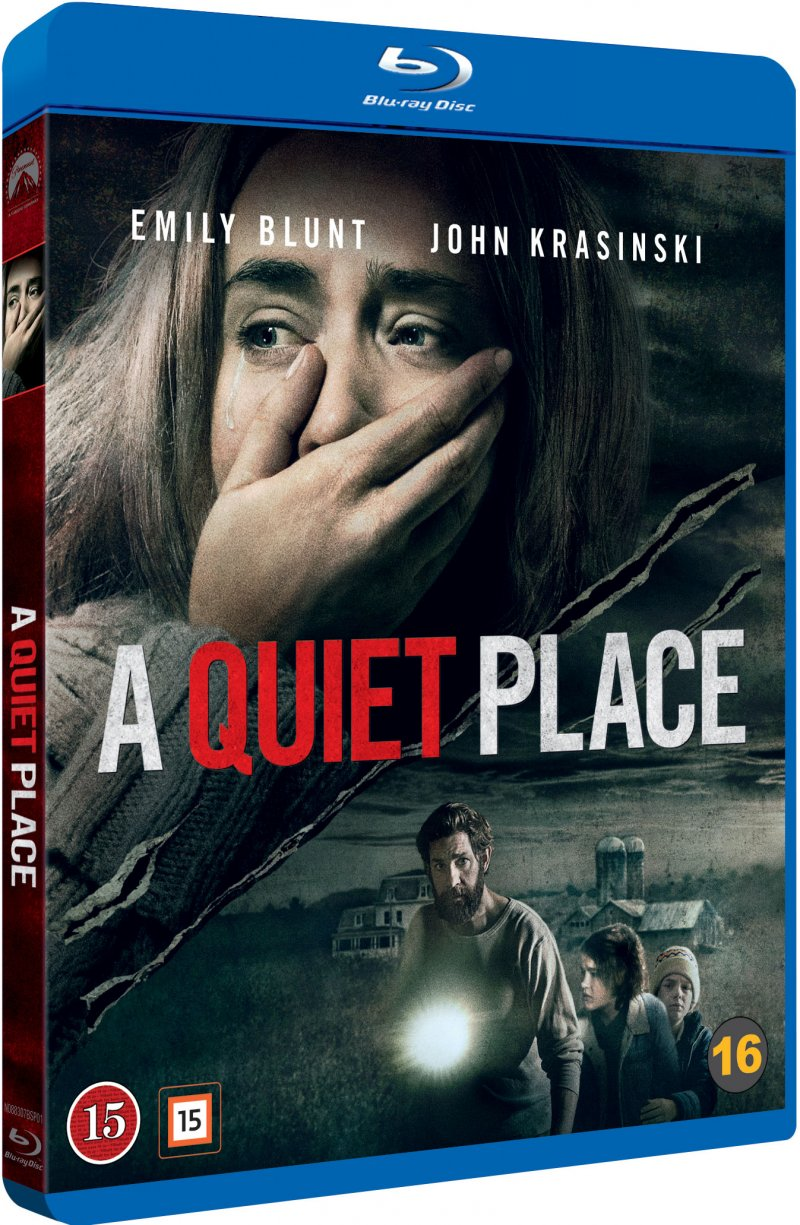 Image of   A Quiet Place - Blu-Ray
