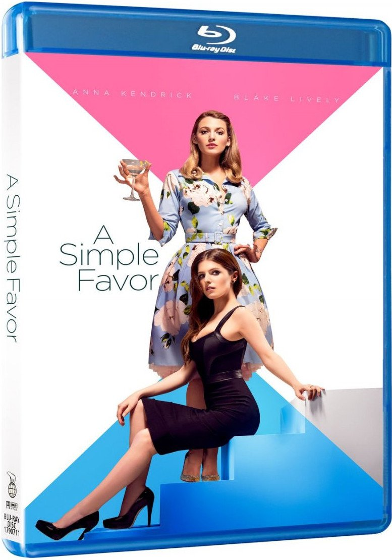 Image of   A Simple Favor - Blu-Ray