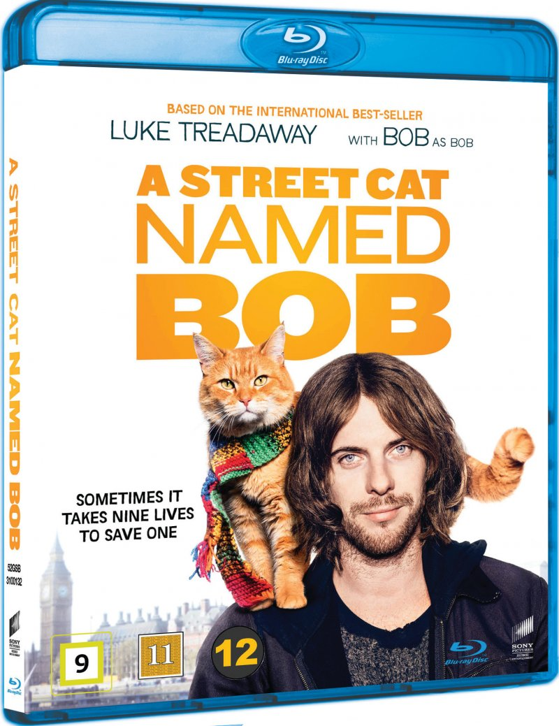 Image of   A Street Cat Named Bob - Blu-Ray