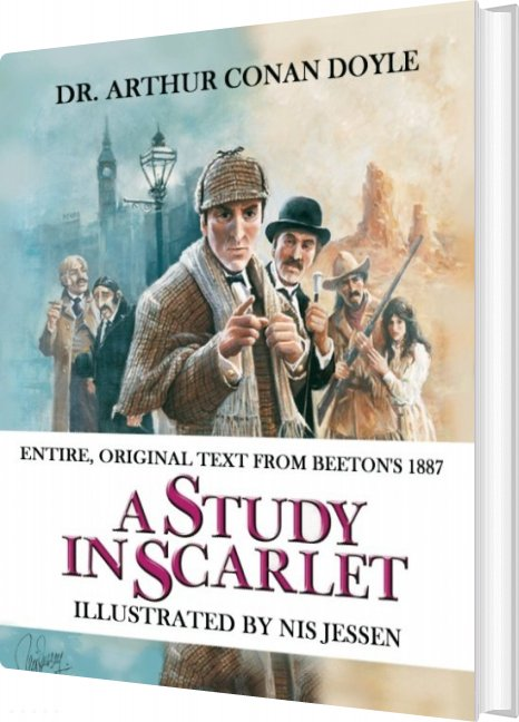 Image of   A Study In Scarlet - Dr. Arthur Conan Doyle - Bog