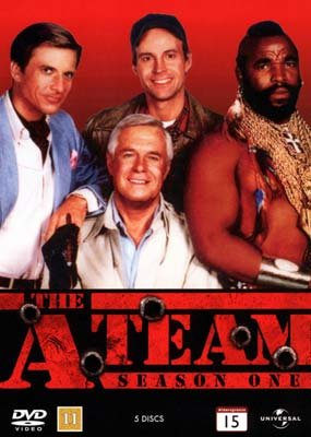 Image of   A-team - Sæson 1 - DVD - Tv-serie