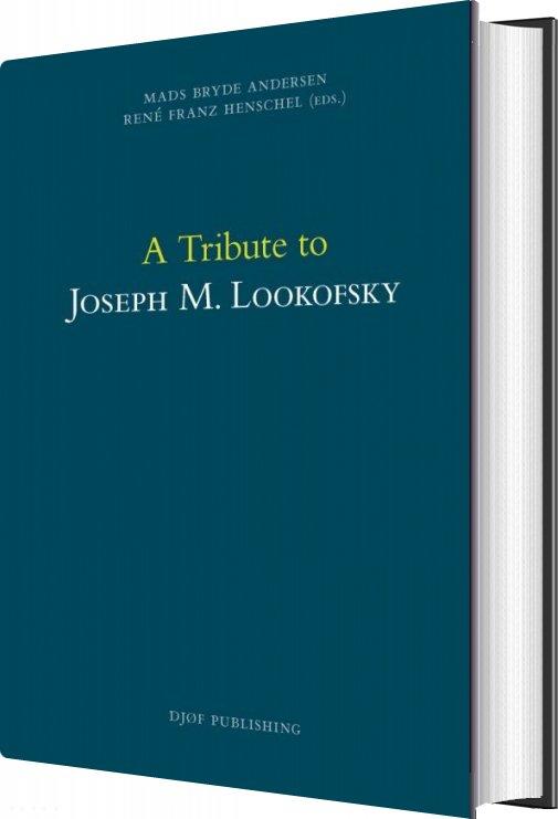 Image of   A Tribute To Joseph M. Lookofsky - René Franz Henschel - Bog