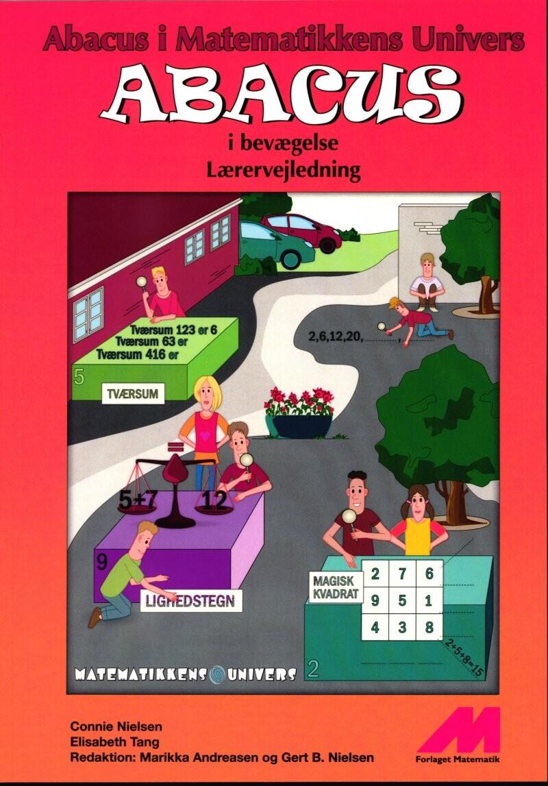 Image of   Abacus I Bevægelse 4. Kl. - Lærervejledning - Connie Nielsen - Bog