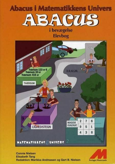 Image of   Abacus I Bevægelse 4. Kl. - Opgavebog - Connie Nielsen - Bog