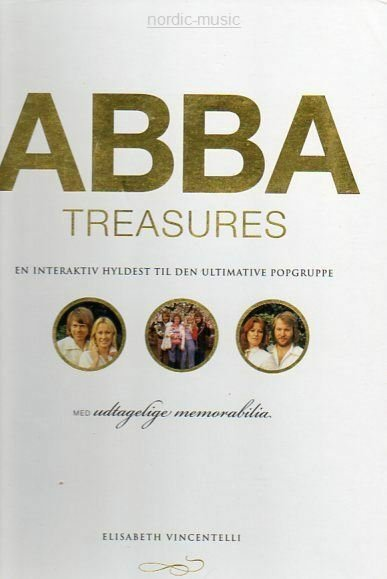 Image of   Abba - Treasures - En Interaktiv Hyldest Til Den Ultimative Popgruppe - CD