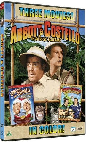 Image of   Abbot And Costello In Africa Screams - DVD - Film
