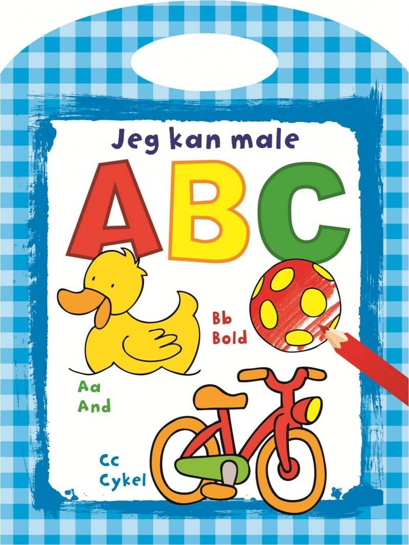 Image of Abc Malebog Med Bogstaver - Inkl. Håndtag