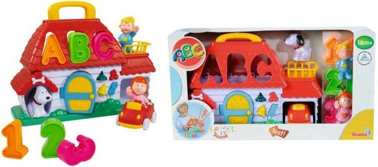 Abc Aktivitetslegetøj Til Baby - Bondegårds Puttekasse