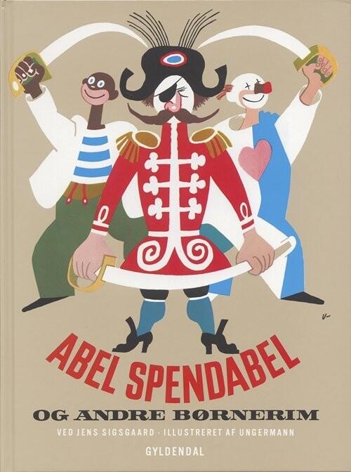 Image of   Abel Spendabel - Jens Sigsgaard - Bog