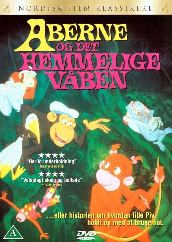 Image of   Aberne Og Det Hemmelige Våben - DVD - Film