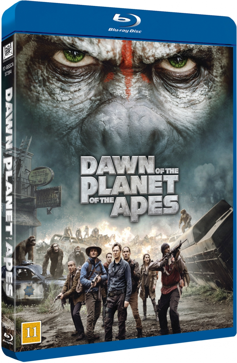 Image of   Dawn Of The Planet Of The Apes / Abernes Planet: Revolutionen - Blu-Ray