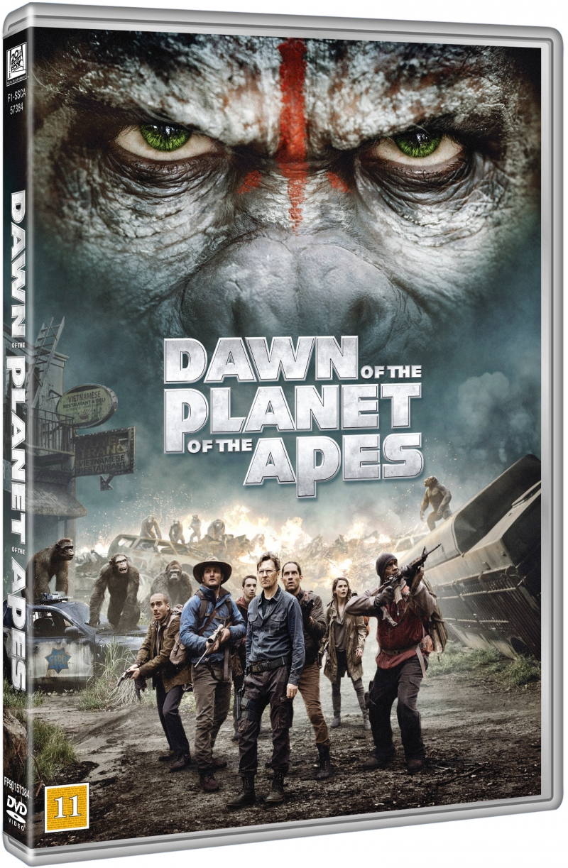 Image of   Dawn Of The Planet Of The Apes / Abernes Planet Revolutionen - DVD - Film