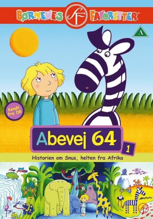 Image of   Abevej 64 - Vol. 1 Afrikas Helt - DVD - Film