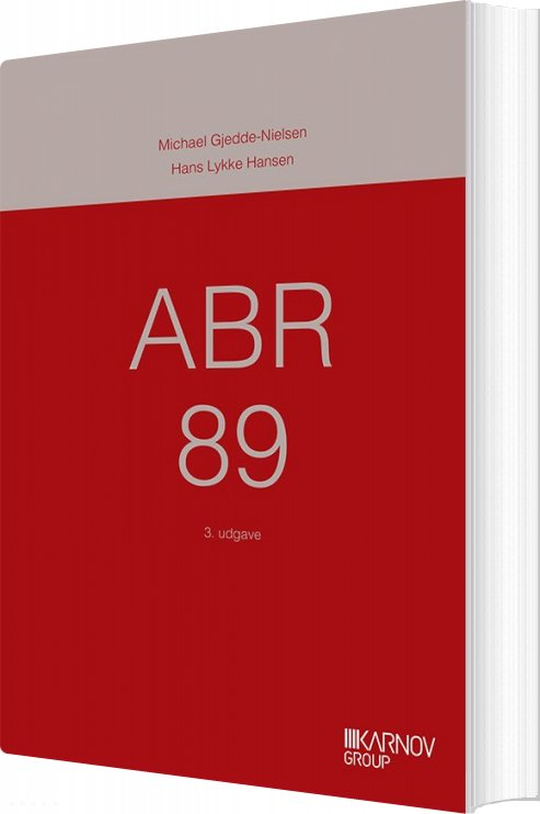 Image of   Abr 89 - Michael Gjedde-nielsen - Bog