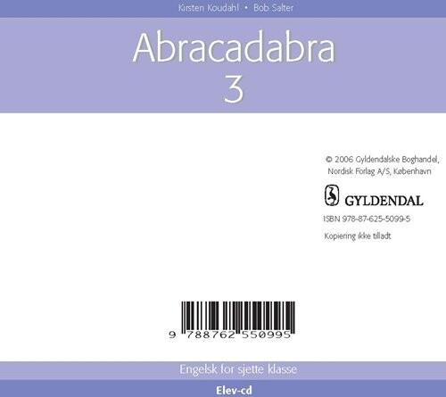 Image of   Abracadabra 3 - Kirsten Koudahl - Bog