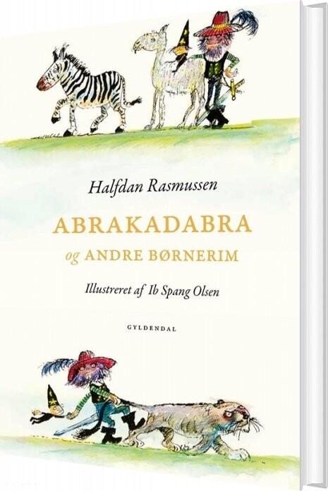Image of   Abrakadabra Og Andre Børnerim - Halfdan Rasmussen - Bog