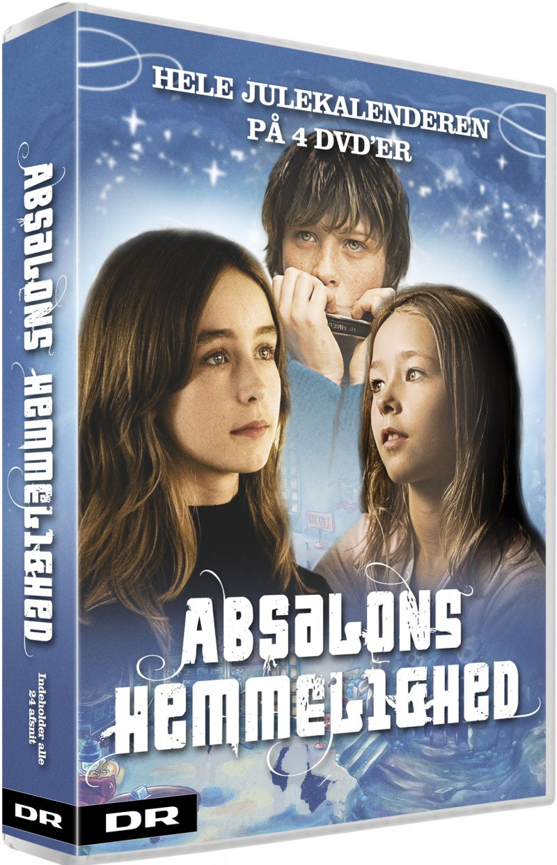 Absalons Hemmelighed - Dr Julekalender - DVD - Tv-serie