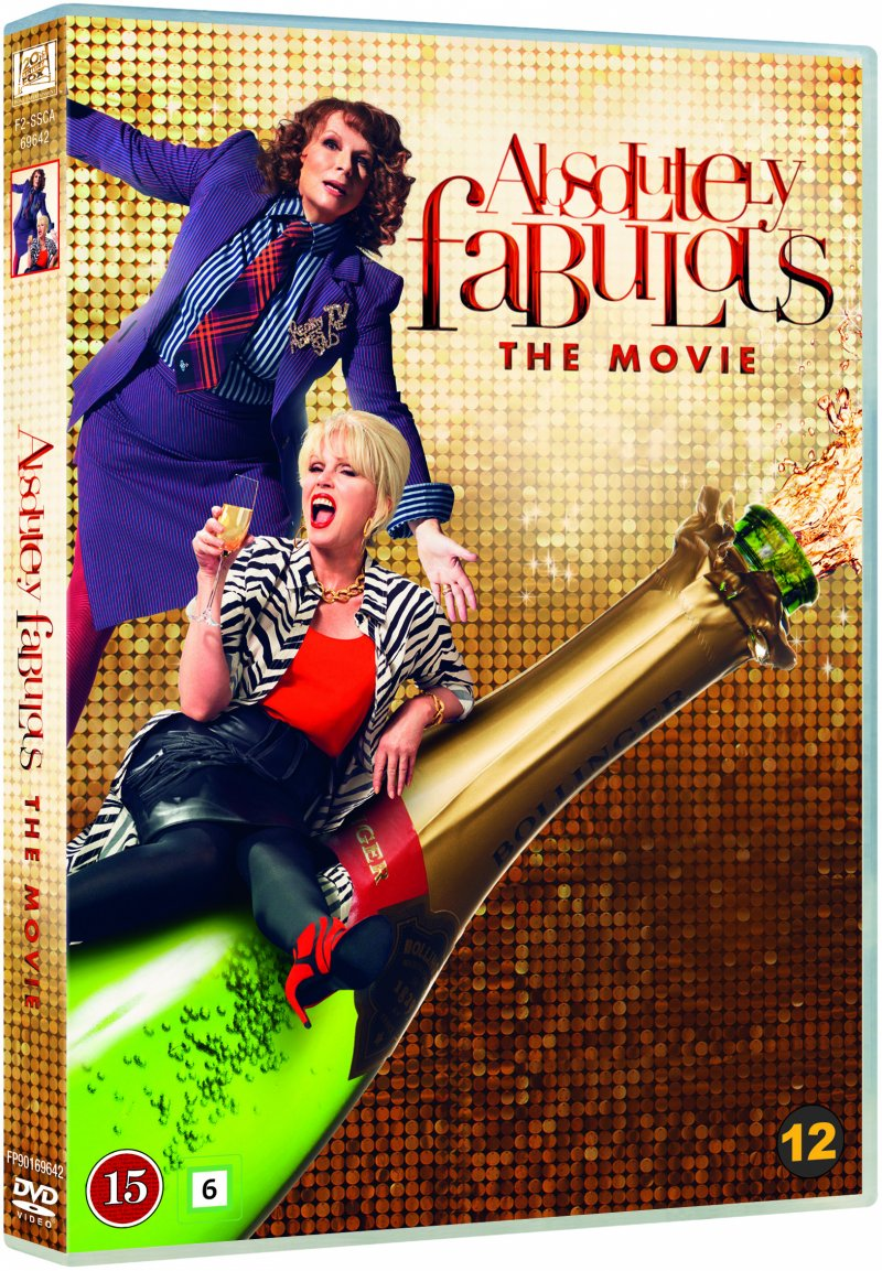 Image of   Absolutely Fabulous The Movie - DVD - Film