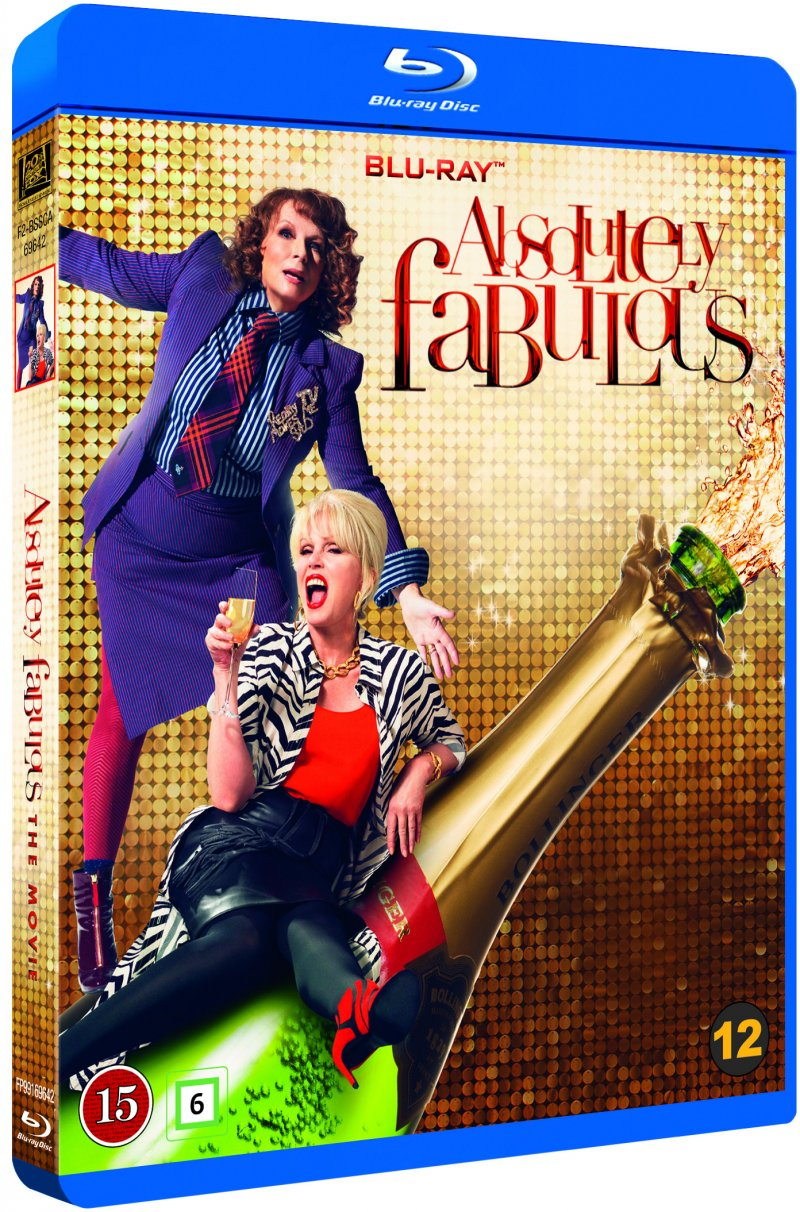 Image of   Absolutely Fabulous: The Movie - Blu-Ray