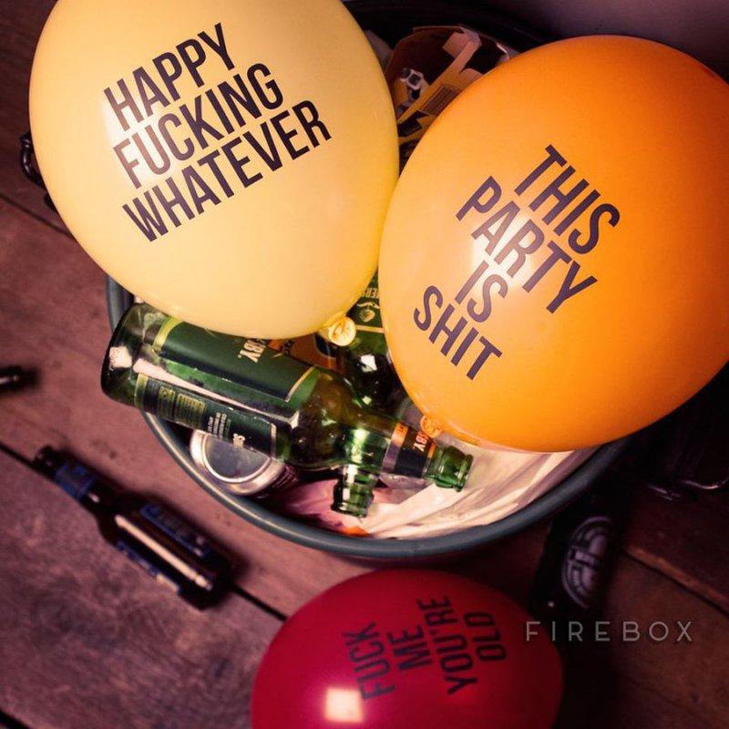 Image of   Balloner Med Grove Sætninger