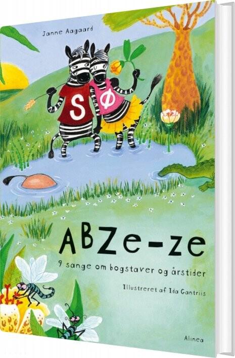 Image of   Abze-ze, Høltlæsningsbog - Janne Aagaard - Bog