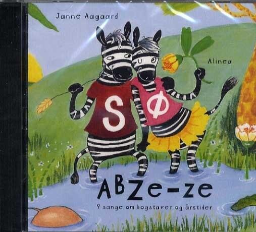Image of   Abze-ze - Janne Aagaard - Bog
