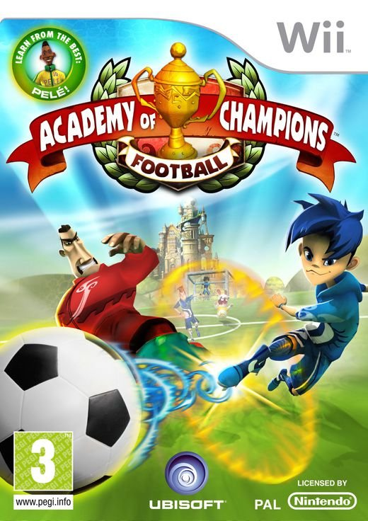 Billede af Academy Of Champions: Football (for Balance Board) - Wii