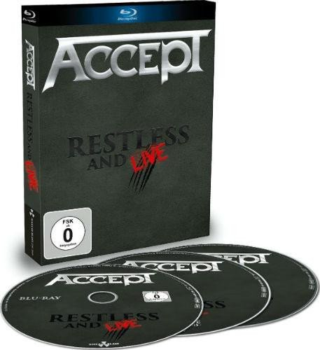 Billede af Accept Restless And Live - (blu-ray+cd) - Blu-Ray