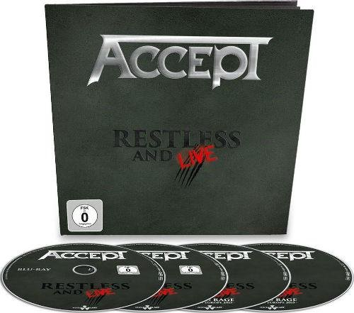Image of   Accept Restless And Live - Blu-Ray