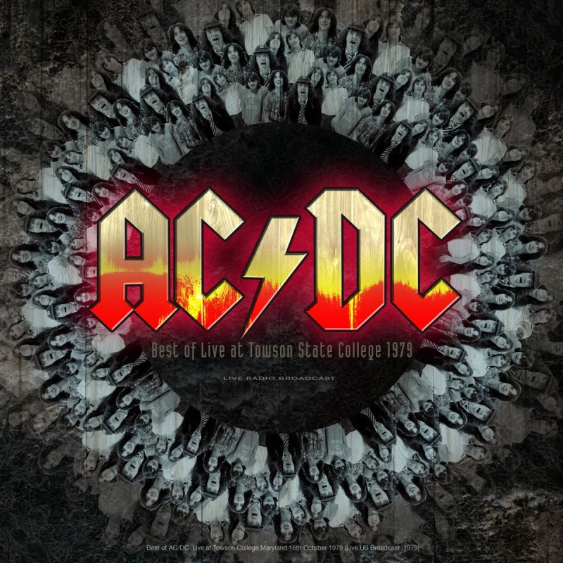 Image of   Ac Dc - Ac/dc - Best Of Live At Towson State College 1979 - Vinyl / LP