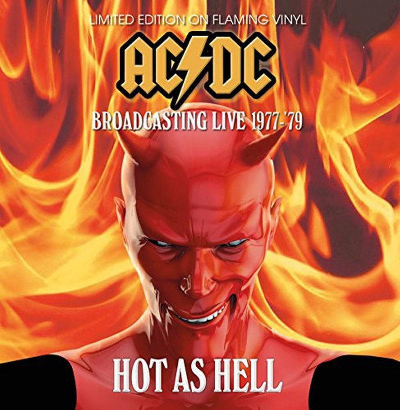 Image of   Ac Dc - Hot As Hell - Broadcasting Live 1977 - 79 - Vinyl / LP