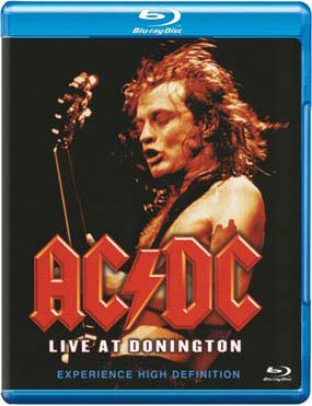 Image of   Ac Dc - Live At Donington - Blu-Ray