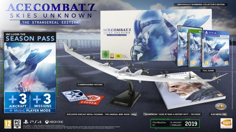 Image of   Ace Combat 7: Skies Unknown - Collector's Edition - Xbox One