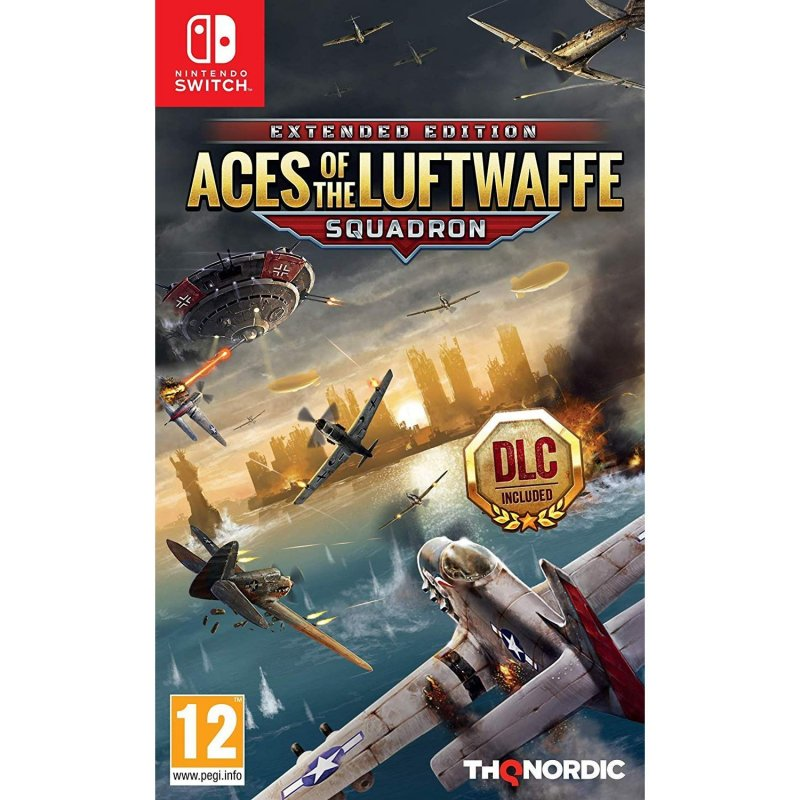 Image of   Aces Of The Luftwaffe: Squadron - Extended Edition - Nintendo Switch