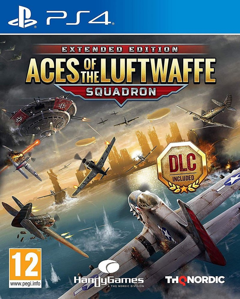 Image of   Aces Of The Luftwaffe: Squadron - Extended Edition - PS4